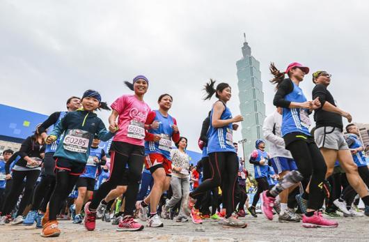 台北富邦馬拉松2014