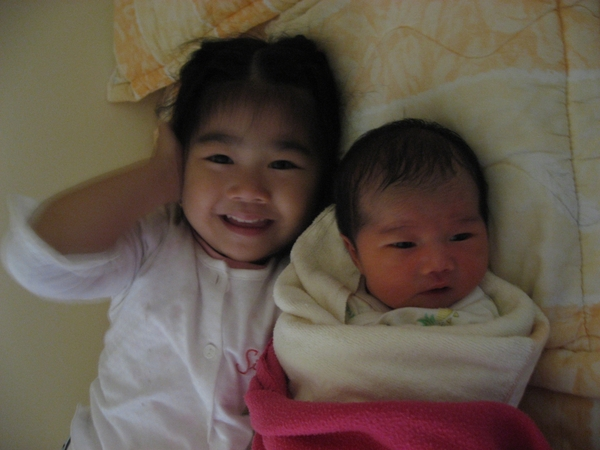 第一張姐妹照