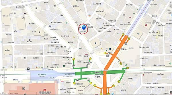 橋村炸雞地圖