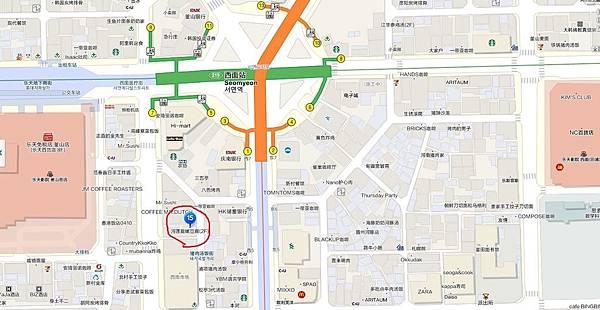 嫩豆腐地圖