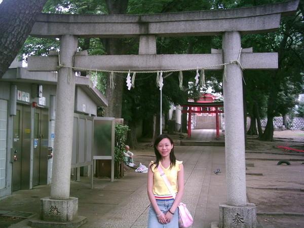 自由之丘的熊本神社