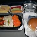 西北的飛機餐,推薦綠茶