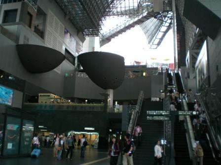 超有設計感的京都車站,但京都人不愛