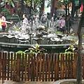 蓮花的水池,很特別