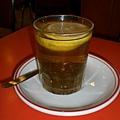 凍檸茶(熱的),凍的+2塊港幣