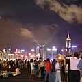 香港的建築密度造就了絕美的夜景