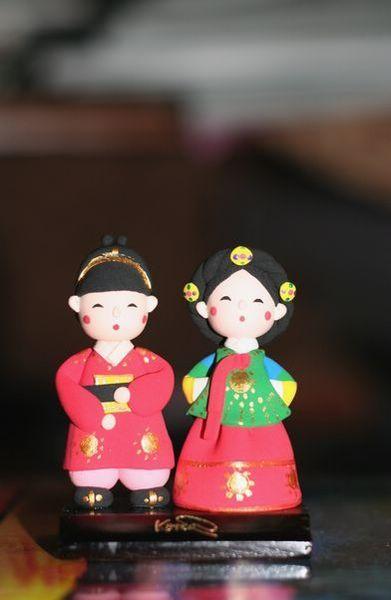 韓國傳統公仔