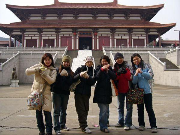 蘇州唐城合影