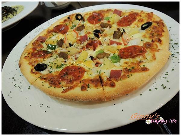 海盜船總匯Pizza