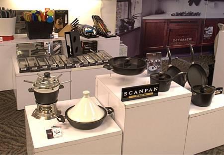 SCANPAN品牌IQ系列陳列在丹麥商務辦事處-我的丹麥禮物聖誕市集