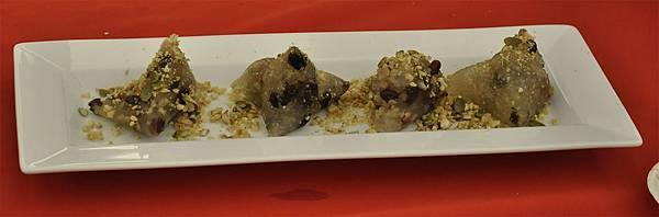 均岱鍋具六月六日SOGO新竹巨城專櫃廚師示範水晶粽擺盤