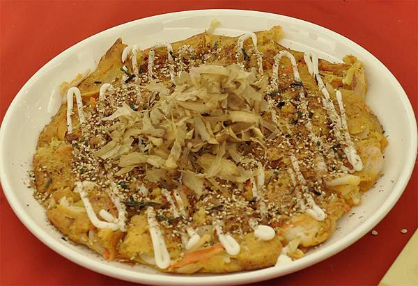 均岱鍋具六月六日SOGO新竹巨城專櫃廚師示範泡菜海鮮煎餅