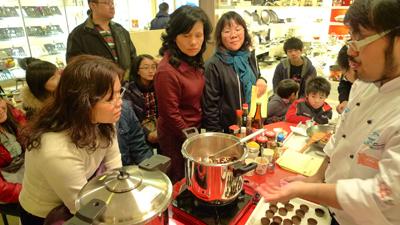 啥?快易鍋也能做巧克力??