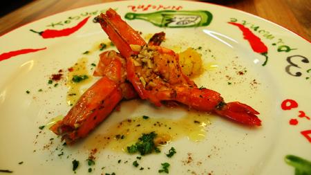 義式蒜香白酒蝦2