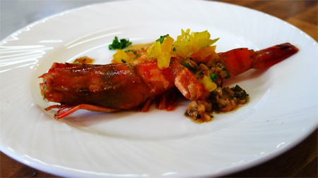 義式蒜香白酒蝦