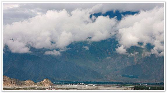 西藏的拉薩