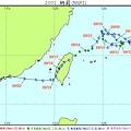 2001納莉颱風路徑