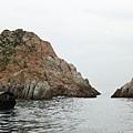 橫瀾島 - 由於南島不能上, 唯有去北島