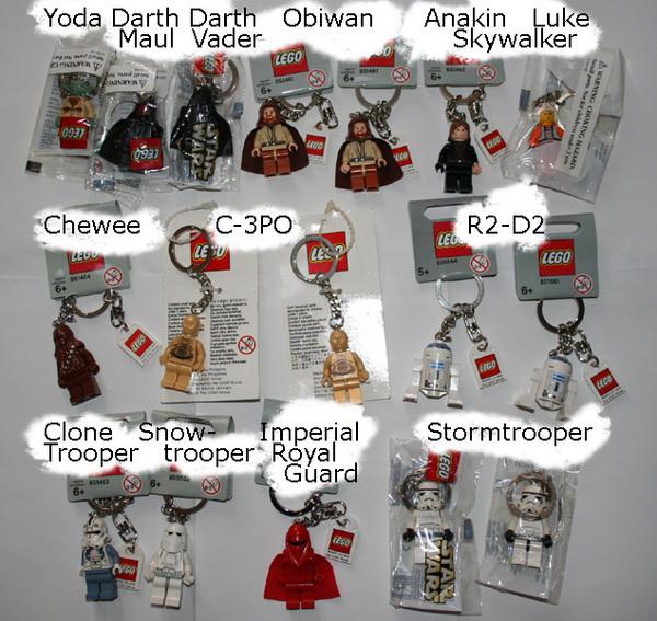 Lego Star Wars Key Chain