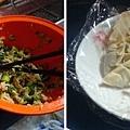 白菜吞拿魚(鮪魚) 餃子