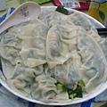 白菜吞拿魚 (鮪魚) 餃子