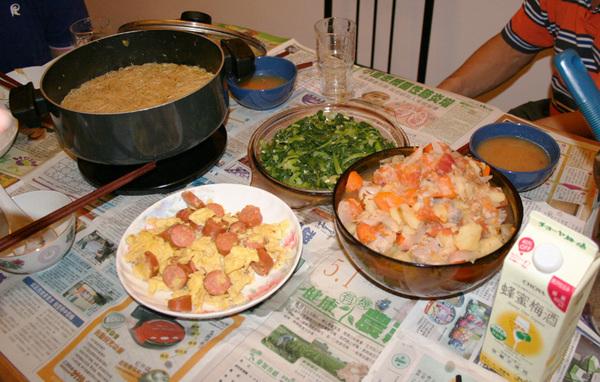 2007.9.9 晚餐