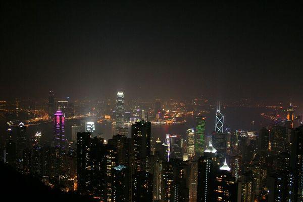 2008.1.5 香港夜景@山頂凌霄閣