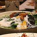 2008.1.5 喜記 - 金銀蛋浸時菜 (菠菜)