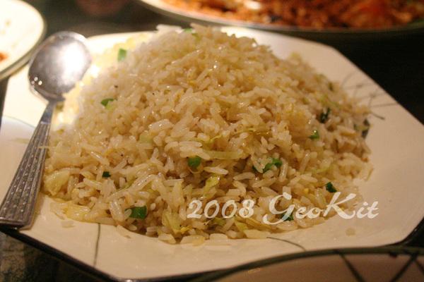 2008.1.5 喜記 - 薑粒炒飯