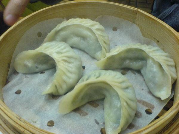 2008.2.18 紅磡 上海飽餃店 花素蒸餃