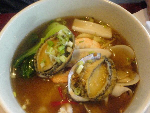 鮑魚海鮮泡飯