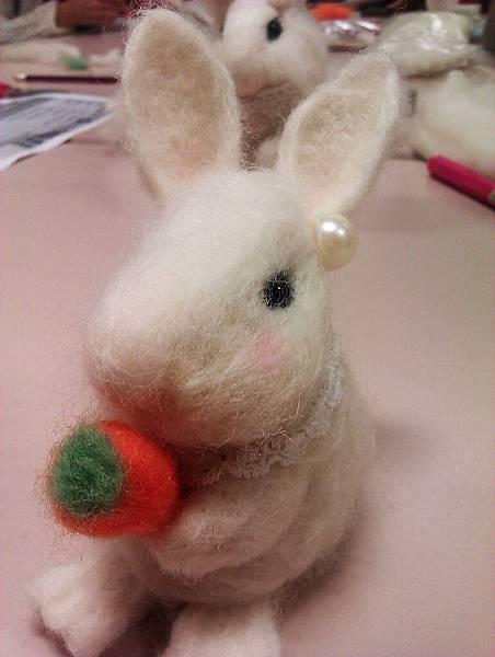 羊毛戳小兔
