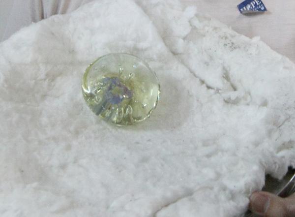 2010.11.20 玻璃吹製體驗班 - 紙鎮
