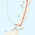 橫瀾島地圖