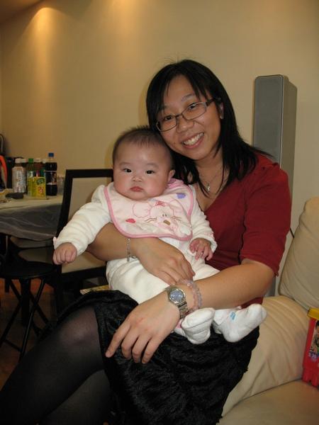 2009.2.6 GEO 聚會: 凱琳 (~半歲) (寶 & 堅)