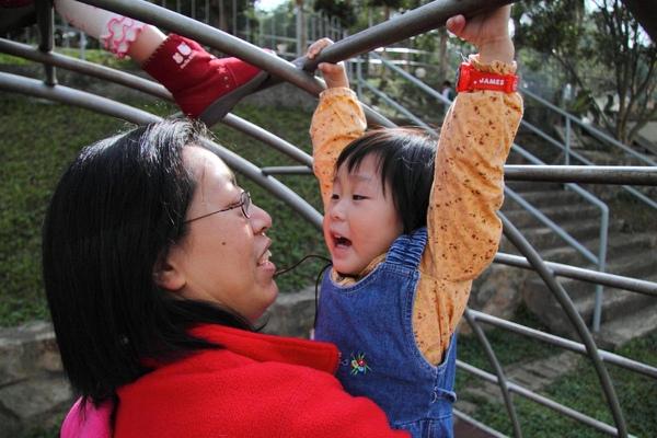 欣泉 & 媽媽