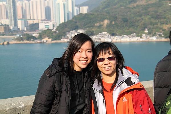 2011.1.8 Mentorship gathering @ 海防博物館 - Suki & I