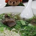 2010.3 高雄 大牛牛肉麵: 清燉牛肉細麵