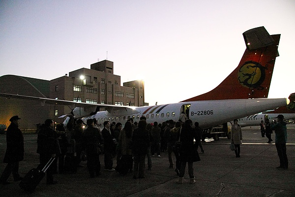 2010 花蓮跨年衝動遊 - 12.31 松山機場去花蓮