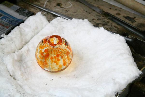 2010.11.20 玻璃吹製體驗班 - 瓶子