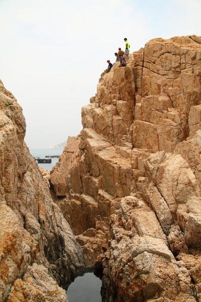橫瀾島 - 攀岩健兒們