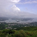 2003.6.22 昂平 (馬鞍山) 遠眺西貢