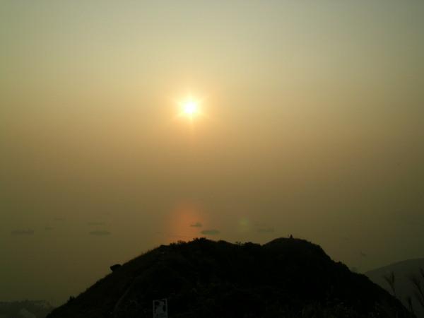 2003.11.1 西高山之日落