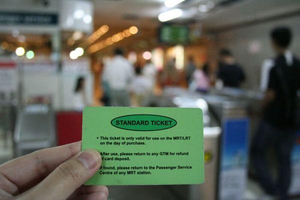 MRT ticket