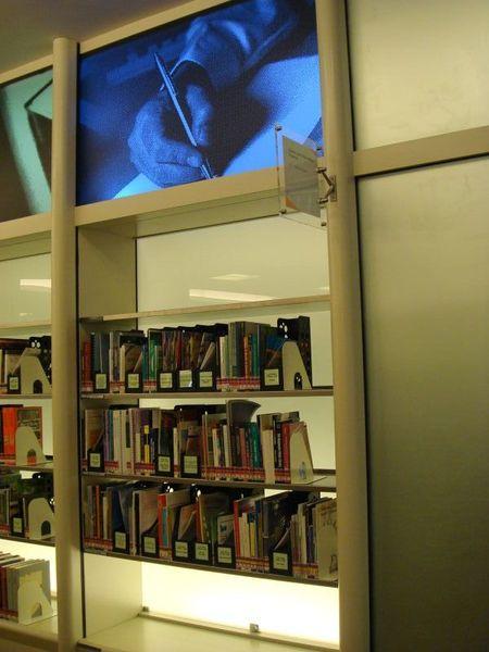 National Library bookshelves