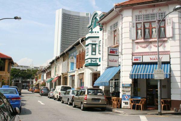 Arab Street buildings