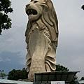 Merlion Park on Sentosa