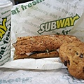 Lunch at Subway