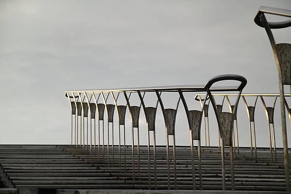 新北市 十三行博物館 鯨背沙丘