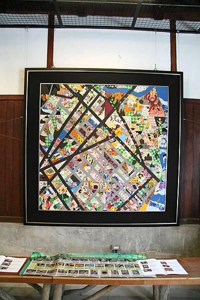 花蓮市拼布地圖